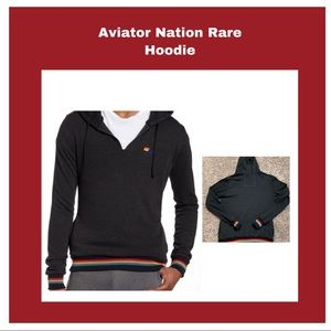 Aviator Nation Rare Prism 🌈 Hoodie Size Small